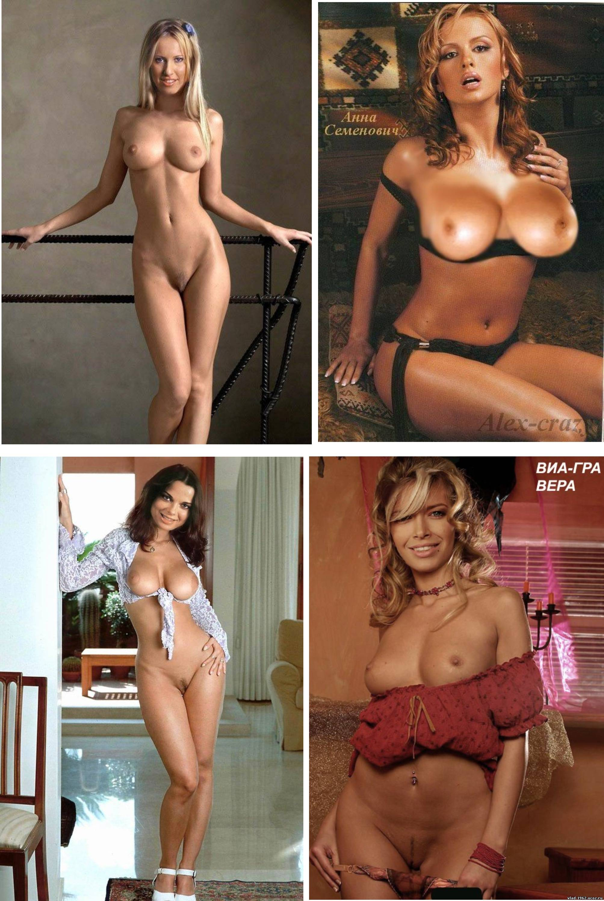 Российские спортсменки голые